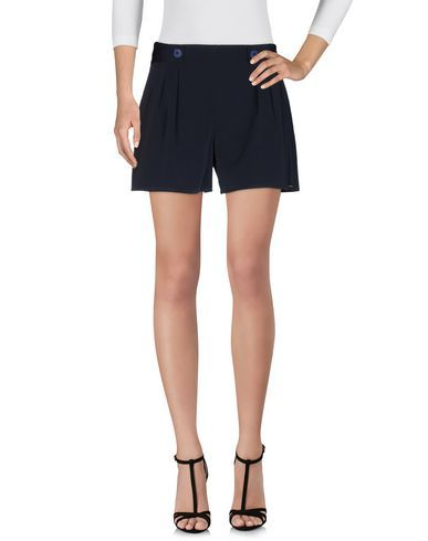 AMARILLO LIMÓN Women's Shorts Dark blue 14 US