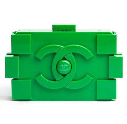 Chanel Lego Clutch #Chanel #Christmas #Lego http://www.trendhunter.com/