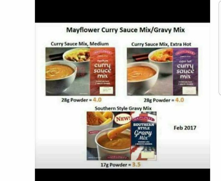 Low Syn Mayflower Curry Sauce & Gravy