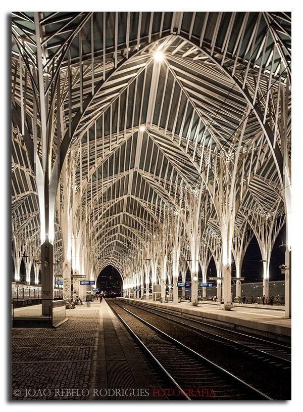 Oriente Train Station, Parque das Nações, Lisboa, Portugal