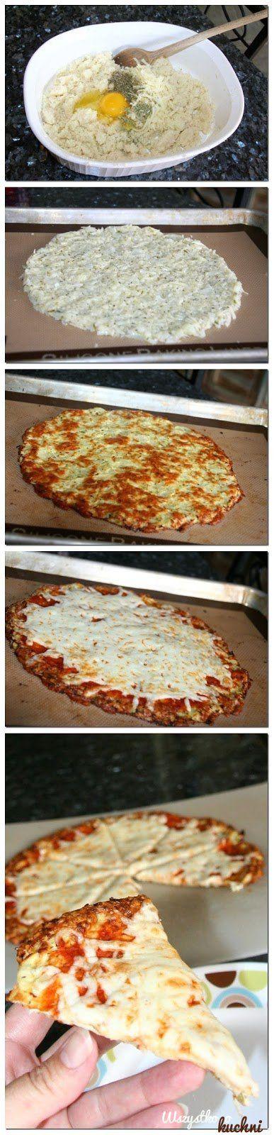 Dietetyczna pizza z kalafiora - Prawie zero kalorii...