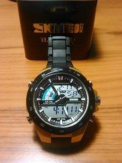 Светодиодные водонепроницаемые часы