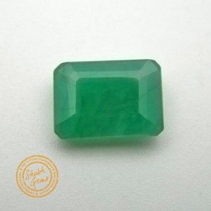 5.50 Carat Natural Emerald Gemstone #emerlad #panna #gemstones #gemstonejewelry #stone #gemwiki #jewellery #astrology #astro #quartz #fashion