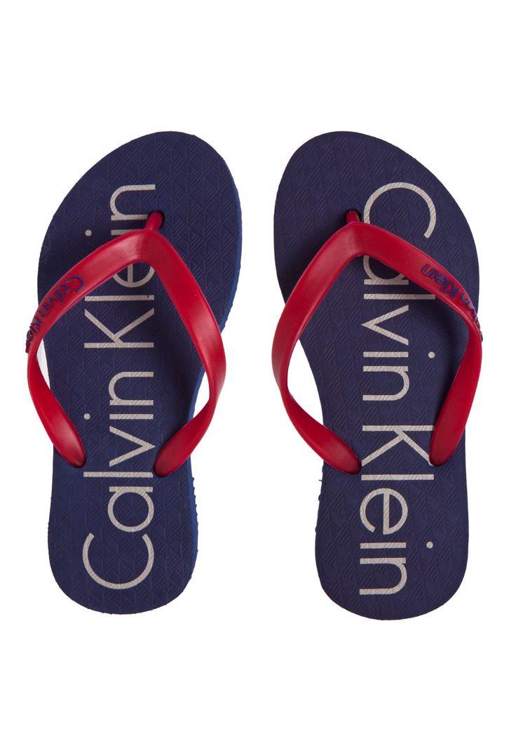 Chinelo Calvin Klein Kids Carbono Azul - Compre Agora | Dafiti