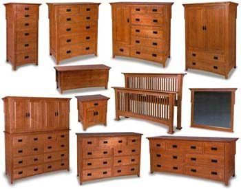 Captivating Millcreek Mission Amish Bedroom Furniture Collection