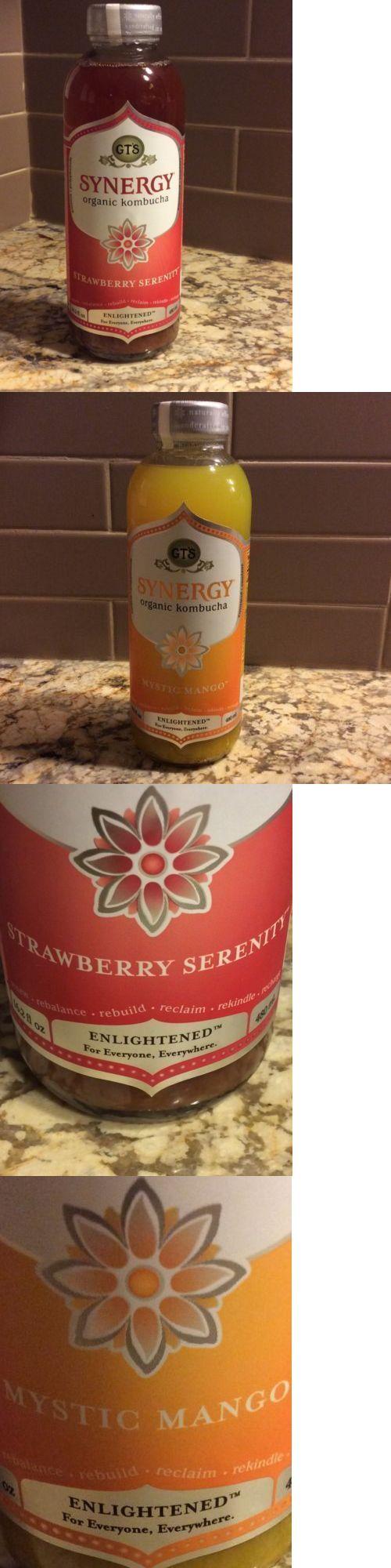 Fruit Juices 179176: Gts Synergy Organic Kombucha Mystic Mangoandstrawberry Serenity-16.2 Oz-12 Case -> BUY IT NOW ONLY: $79.95 on eBay!