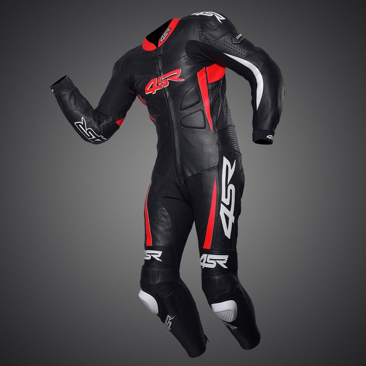 4SR one-piece suit - Racing Replica Red