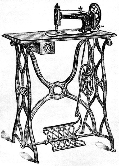 День швейной машинки открытки
