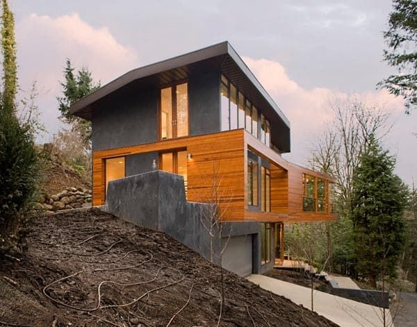 Featured Posts Image For Modern Pad Featured In Twilight Saga Hoke Residence Twilight House Architecture House Exterior
