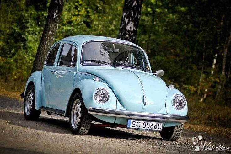 ORYGINALNY KLASYCZNY VW GARBUS DO ŚLUBU , 1
