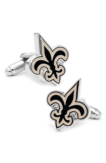 New Orleans Saints Cuff Links #fleurdelis