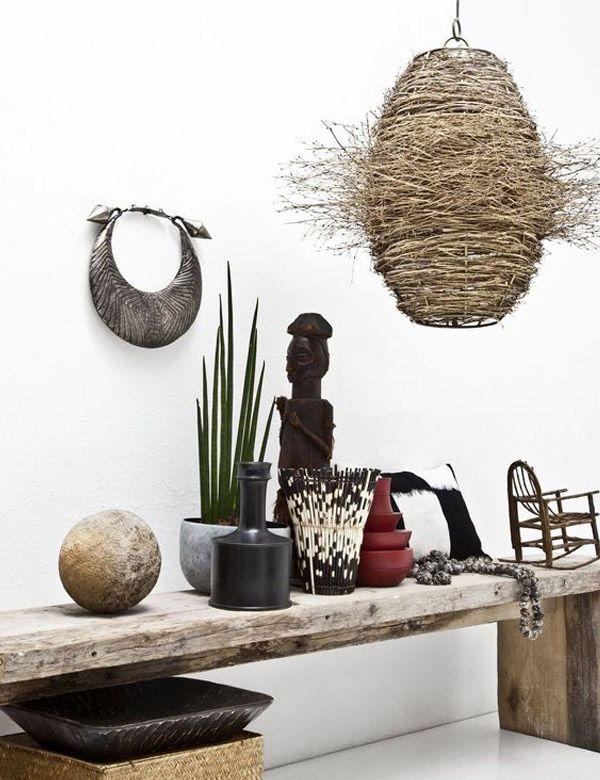 les 34 meilleures images du tableau style ethnique chic africain sur pinterest style ethnique. Black Bedroom Furniture Sets. Home Design Ideas
