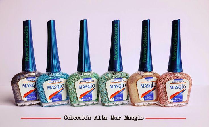 COLECCIÓN ALTA MAR MASGLO. Nail polish.