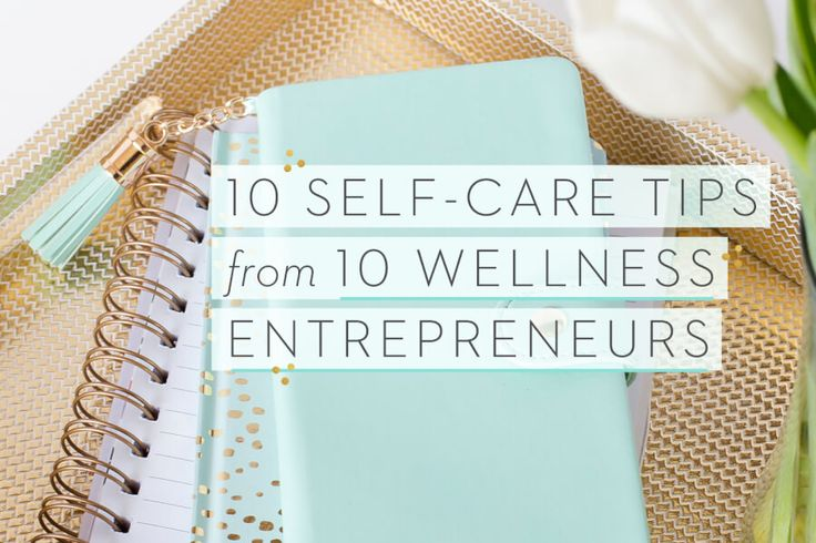 """""""You'll find when you make time for self-care, you're more productive at work or school and in life and you're much happier."""""""