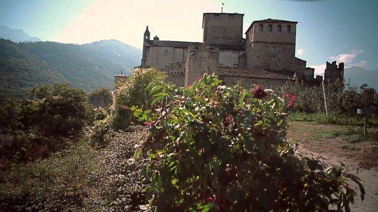 Valle dAosta, terra di Castelli, via YouTube.#aostavalley #travel #italian #alps #holiday