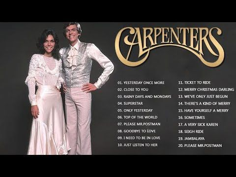 Carpenters Greatest Hits Collection (full album) | The Carpenter Songs | Best Songs of The Carpenter - YouTube