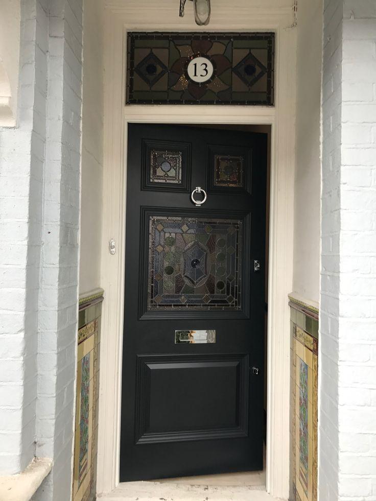 Very nice Edwardian front door in London
