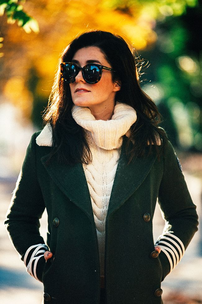 Jacket: Tommy x Gigi c/o Sweater: Tommy x Gigi c/o (also love this one )   Jeans: J.Crew Shoes: Tor...