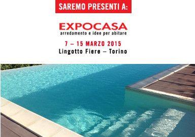 Acqua SPA: siamo presenti a Expocasa con piscine e arredi da esterno