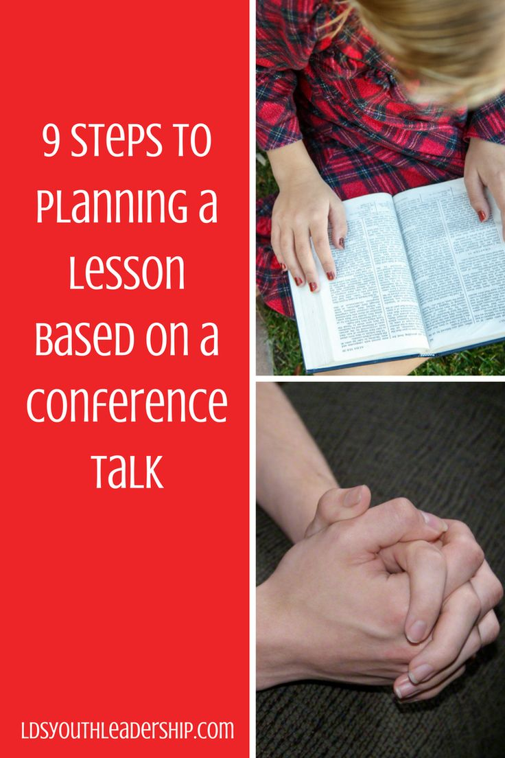Need help planning and LDS lesson from a conference talk? This site can help you!