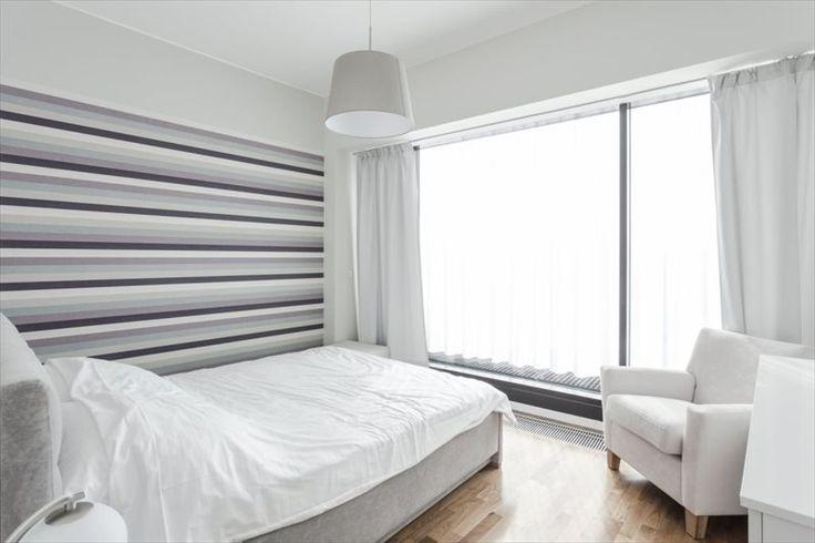 Biel w sypialni. / white bedroom, apartment, interior