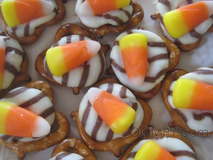 Sweet and Salty Halloween Treats