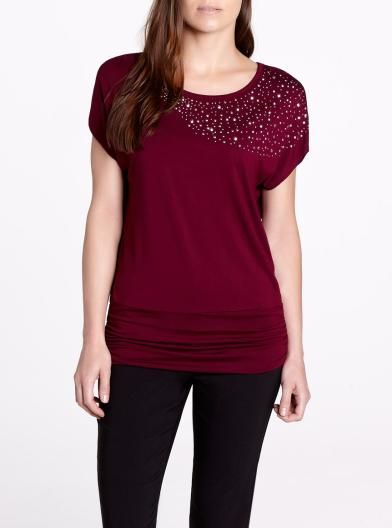 Short Sleeve T-Shirt, Pretty #ReitmansJeans