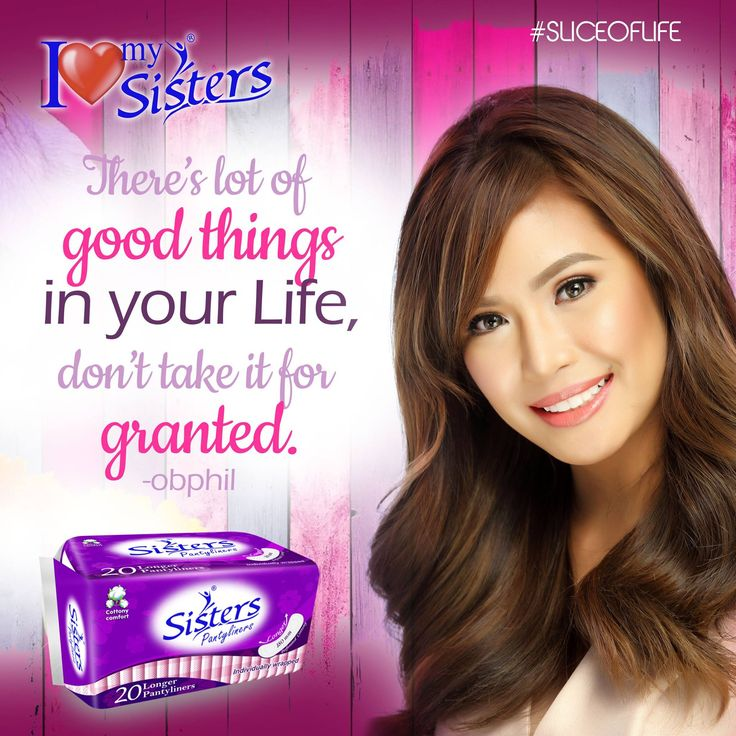 Always be grateful! 😊💞😍 #SistersPH #ILoveMySisters #StandProud #WeAreOneWeAreSisters #SistersLongerPantyliner