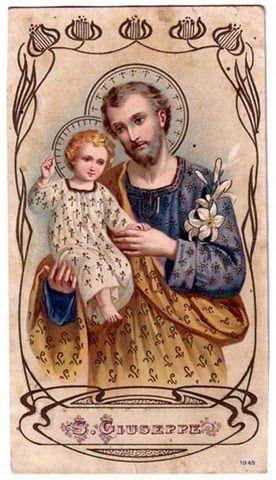 Feast of St Joseph  March 19