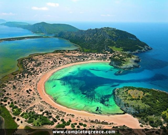 Voidokilia Beach - Pylos - #Greece
