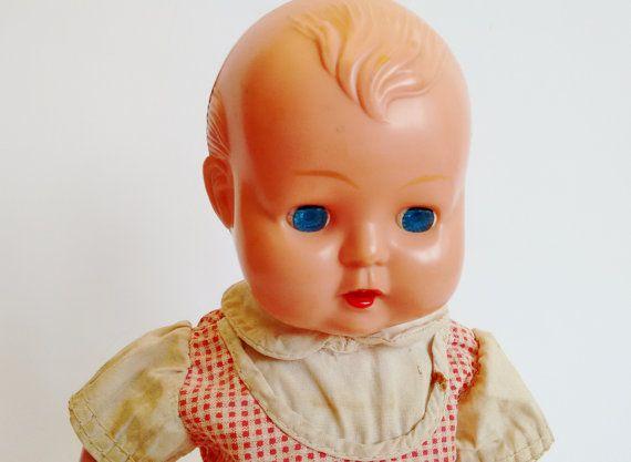 Vintage 50'S OK Baby Doll B3512  kader doll by DorisVintage