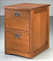 Two Drawer Wood File Cabinet | Anna Lee Two Drawer File Cabinet