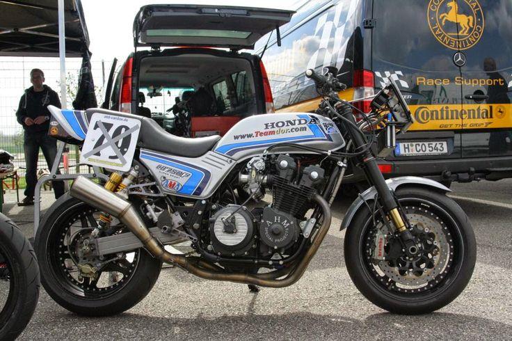 El Corra Motors: TEAM dOr - CB750F Spencer replica racer #79