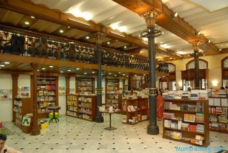 Cafes and Libraries in Mumbai - Beating the blues with books!