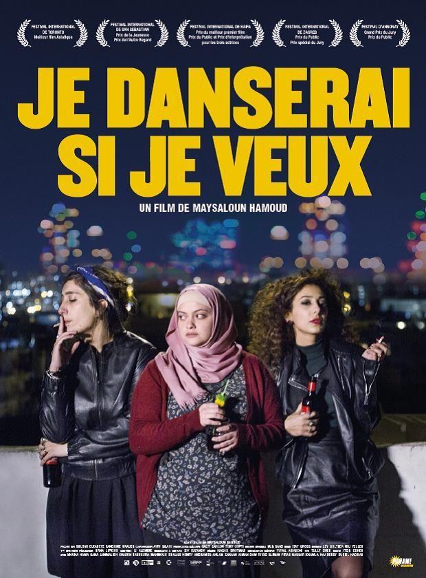 Je danserai si je veux, Maysaloun Hamoud. S'il pêche parfois par manque de réalisme (la manière dont Nour se fond dans cette coloc un peu déglinguée semble en effet un peu rapide et surfaite), je danserai si je veux est un très bon film, intéressant sur ce qu'il dit des arabes israéliens aujourd'hui, pris en étau entre modernité et traditions. Les acteurs, et surtout les actrices, sont magnifiques de justesse.