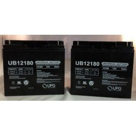 12V 18Ah Fire Alarm Control Panel Battery - 2 Pack  UB12180 NB 12V 18AH - Absorbant Glass Mat (AGM) technology for superior performance. Valve regulated, spill proof construction allows safe operation in any position.  Common uses for the UB12180: Consumer Electronics, Electric Vehicles, Engine Starters, Golf Carts, Hunting, Lawn and Garden Tools, Medical Mobility, Motorcycles, Photography, Power sports, Portable Tools, Solar, Toys and Hobby, Access Control Devices, Emergency Lighting...