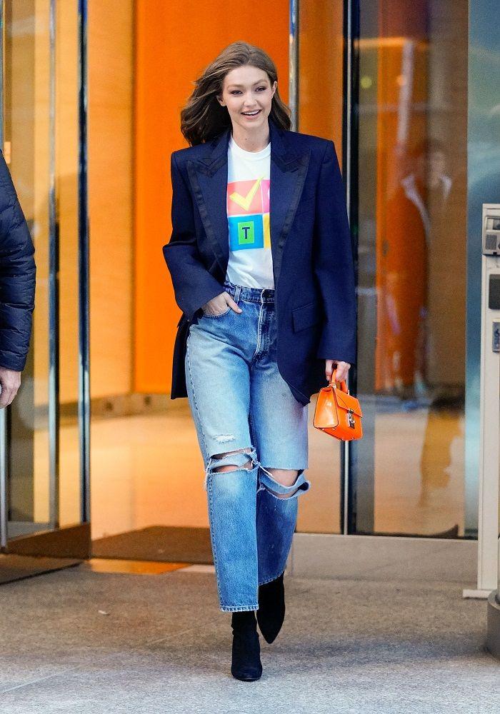 4b6f023b Gigi Hadid | Best Street Style Looks in 2019 | Gigi hadid style ...