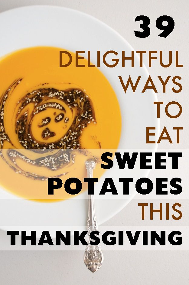 Delightful ways to eat sweet potatoes this thanksgiving