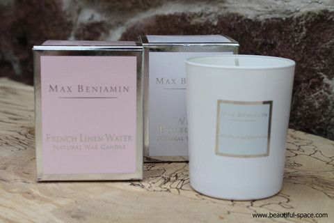 Living Room - Max Benjamin White Pomegranate Candle – Beautiful Space Interior Design
