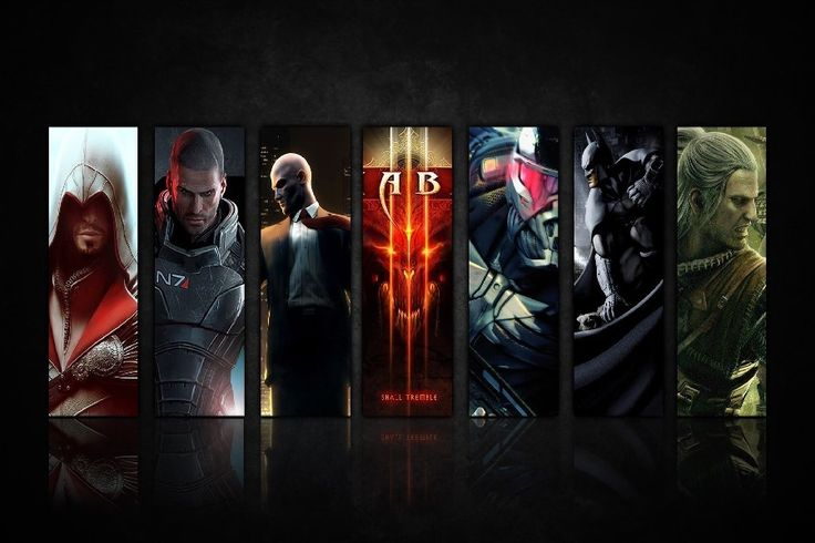 Mass Effect 3,Batman-Arkham City The Witcher,,halo,games all in 1 poster silk Fabric Printing Wall Art Decor #Affiliate