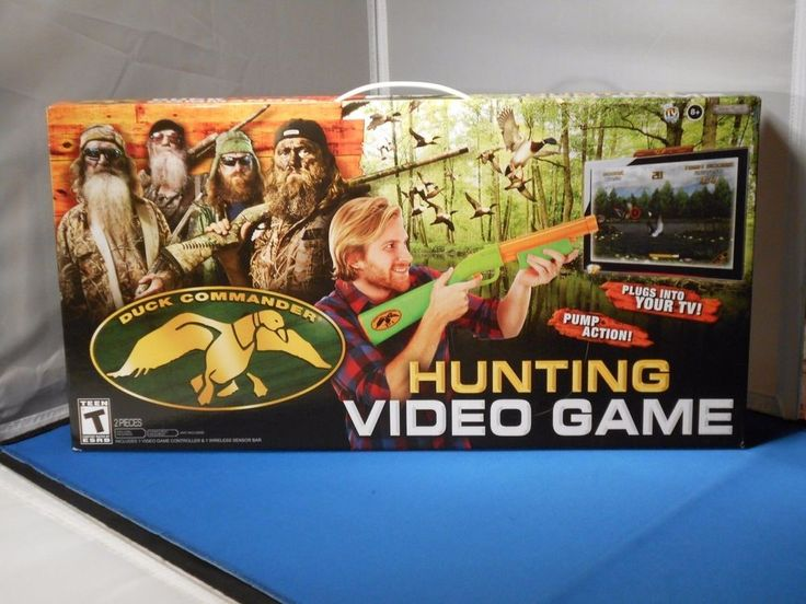 Jakks Pacific Duck Commander Hunting Plug & Play Video ((Game pick up only))