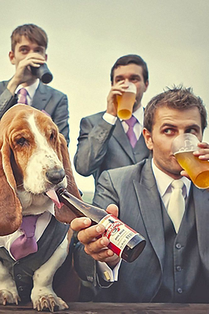 Awesome Groomsmen Photos You Cant Miss ❤ See more: http://www.weddingforward.com/groomsmen-photos/ #weddings