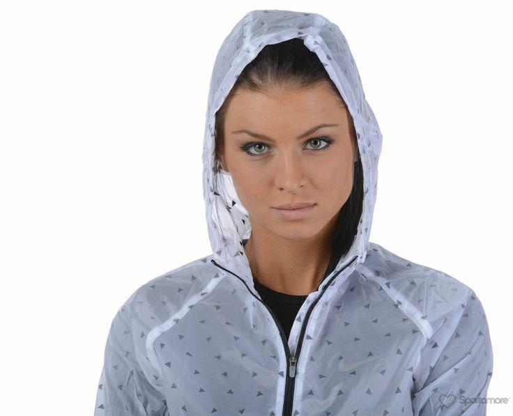 Nike - Cyclone Jacket - Jackor - Vit/Svart - Dam | www.sportamore.se | Sportamore.se - Kläder Träning & Gym