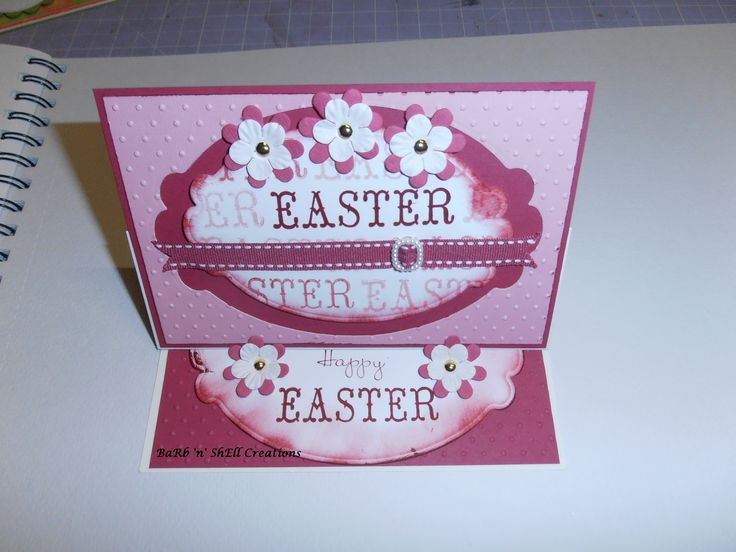 Easter Easel card made by Shell