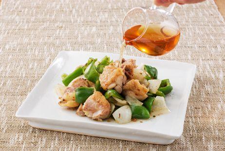 鶏肉と野菜のさっぱり炒め