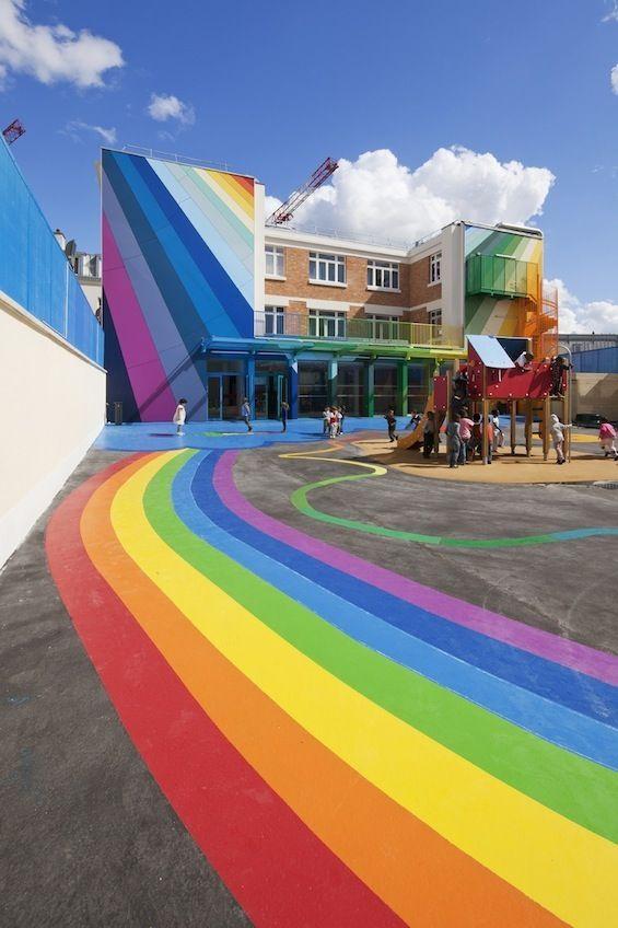 Ecole maternelle Pajol par Palatre & Leclere