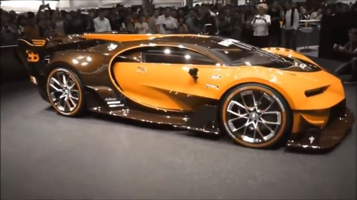 Bugatti Vision Color Changing Paint