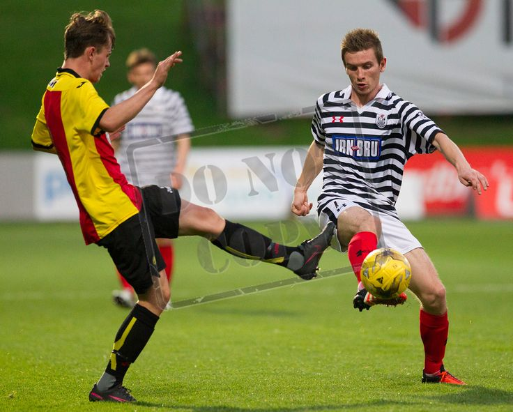 Queen's Park's Gregor Fotheringham in action during the IRN-BRU Cup game between Partick Thistle Colts and Queen's Park.