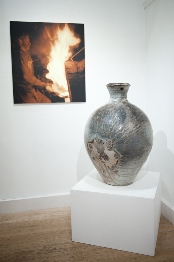 Photo taken from Svend Bayer's 2012 Goldmark exhibition.