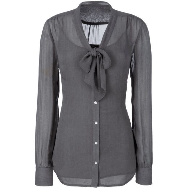17 Best ideas about Grey Blouse on Pinterest | Blouses, Chiffon ...